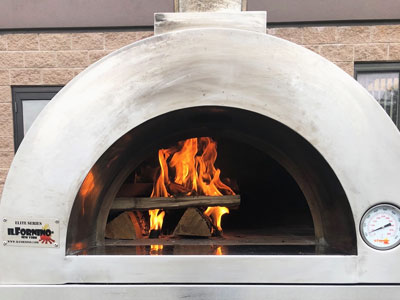Elite Outdoor Pizza Oven